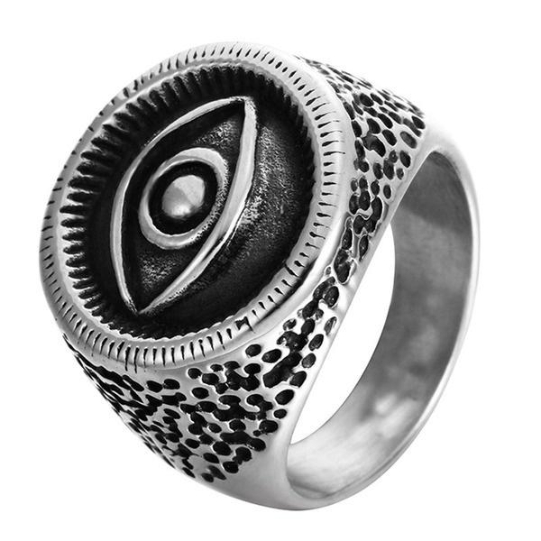 Steel, ringsformen, Fashion, eye