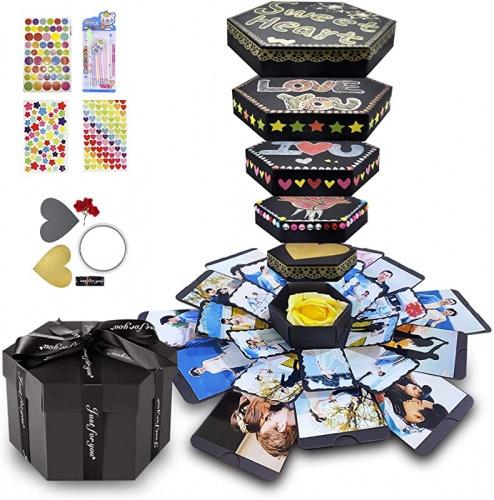 album, Box, Gifts, black