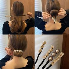 hair, Flowers, Fabric, pearls