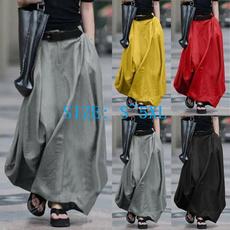 Fashion Skirts, Plus Size, looseskirt, Summer