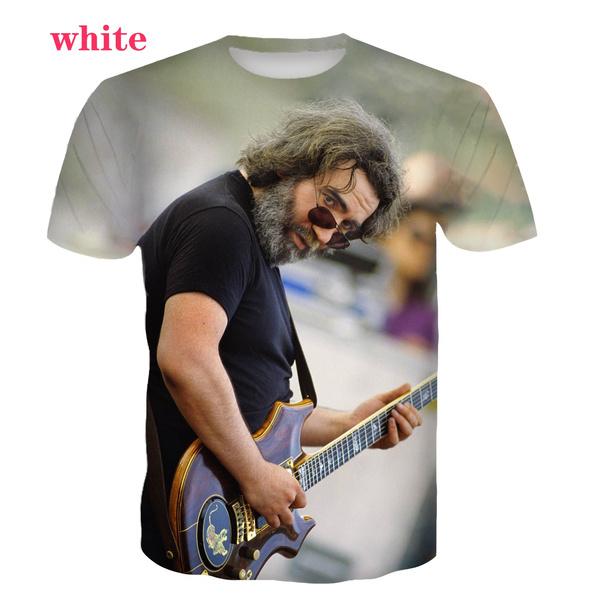 gratefuldead3d, men's cotton T-shirt, Sleeve, Shorts