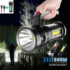 Flashlight, Outdoor, usb, lights