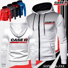 case, caseih, Fleece, menzipperjacket