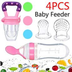 fruitfeeder, feedingspoon, siliconenipple, babyfeeder