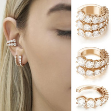 Fashion, Jewelry, Crystal, 18 k