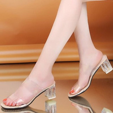 Summer, Woman, Square, Womens Shoes