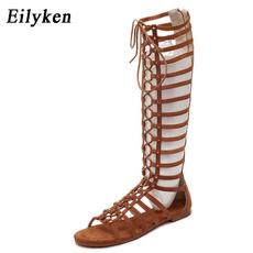 Summer, Sandals, Roman, Buckles