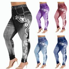 long leggings, Leggings, Plus Size, Floral print