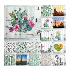 Plants, Flowers, showercurtainandliner, customshowercurtain
