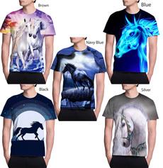 Mens T Shirt, horse, Fashion, Sleeve