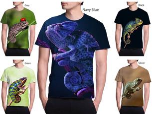 Mens T Shirt, Fashion, chameleon, unisex