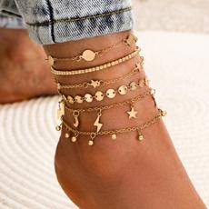 Summer, Fashion, summeranklet, Jewelry