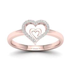 18 k, Heart, DIAMOND, Jewelry