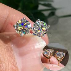 DIAMOND, Jewelry, Princess, Ladies Earrings