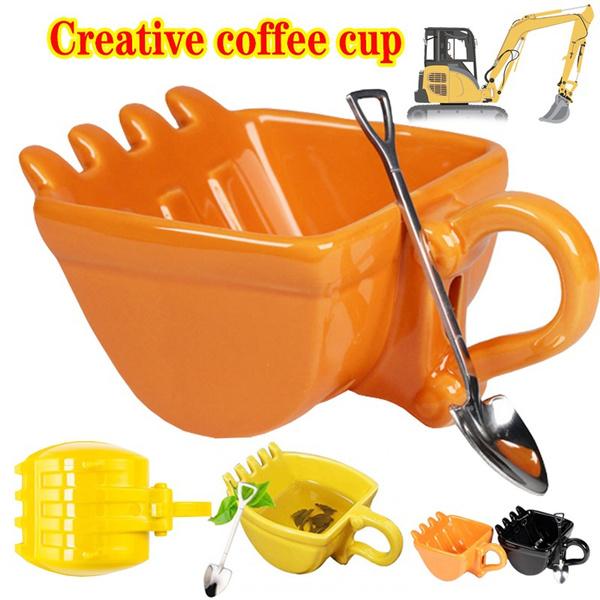 coffeespoon, Funny, Coffee, excavator