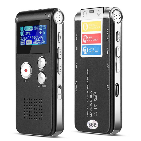 sound, Rechargeable, dictaphone, 8gb