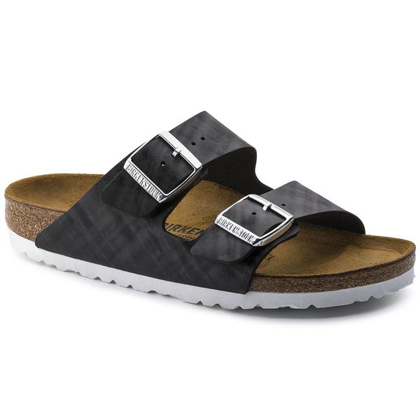 Arizona, footbedliningsuede, Sandals, black
