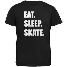 T Shirts, Skate, black, Shirt