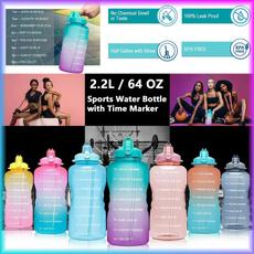 スポーツウォーターボトル, Colorful, garrafadeáguaesportiva, waterbottlewithstraw