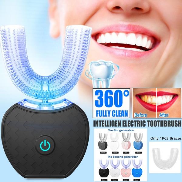 ushapetoothbrush, Rechargeable, ushapehead, teethwhitening