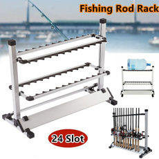 fishingrodorganizer, fishingrodstand, Aluminum, fishingaccessorie