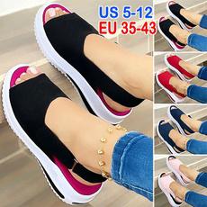 non-slip, Sandals & Flip Flops, Slip-On, Platform Shoes
