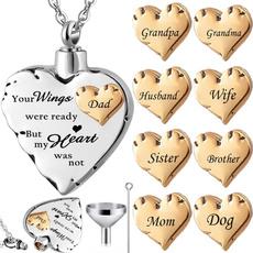 Steel, Heart, keepsakejewelry, Jewelry