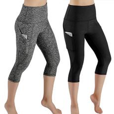 Leggings, Yoga, Waist, pants