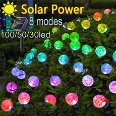Outdoor, Garden, Waterproof, solarstringlight