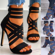 Fashion, summerhill, partyheel, Peep Toe
