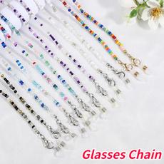beadsglasseschain, sunglasseschain, Fashion, Necks