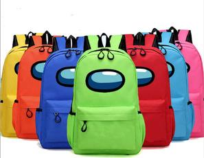 Boy, School, Hiking, School Backpack