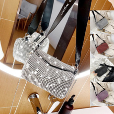 Summer, DIAMOND, women purse, Chain