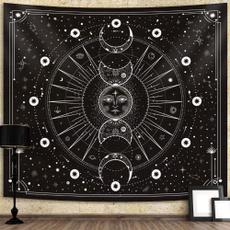 sunandmoon, blanketstapestry, Star, Home & Living