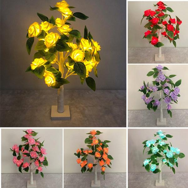 party, Flowers, Romantic, fairylamp