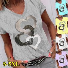 Tops & Tees, Fashion, Cotton T Shirt, Summer