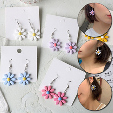 daisyearring, Summer, Flowers, Jewelry