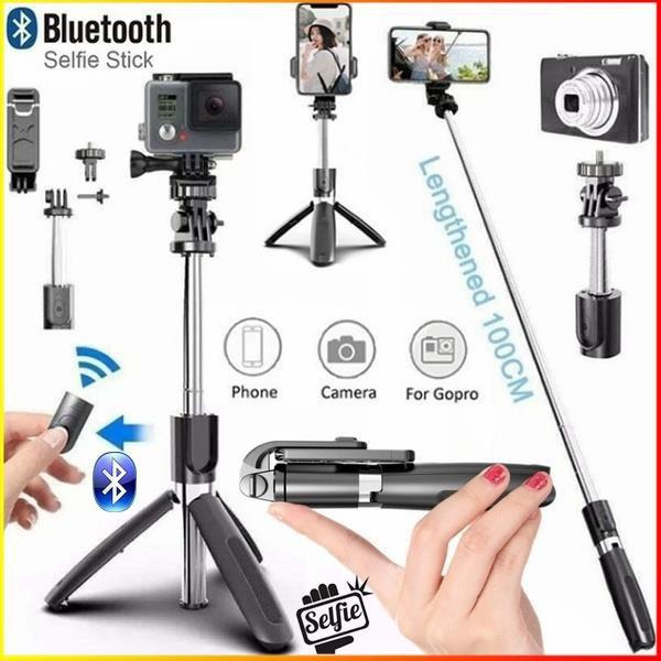 bluetoothtripod, Smartphones, selfiestickbluetooth, wirelessbluetoothremote