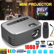 Mini, portableprojector, led, projector
