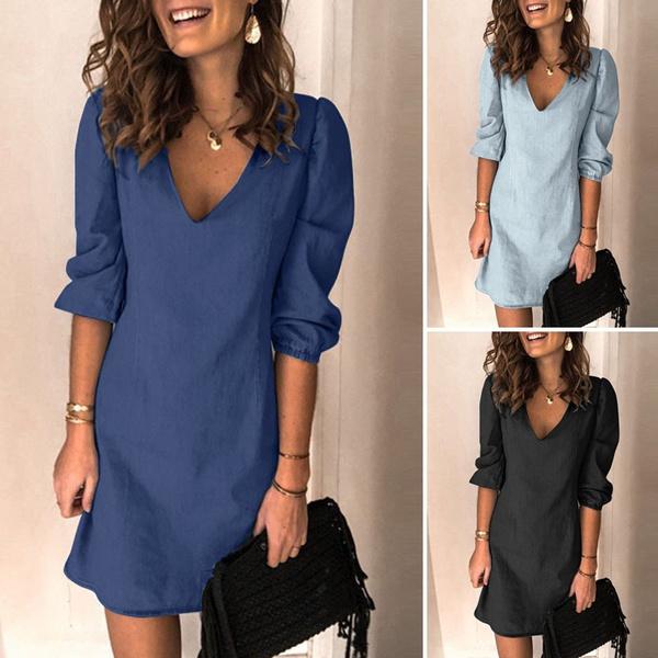 denim dress, dressforwomen, Shorts, short dress