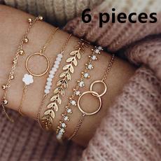 Charm Bracelet, Chain, Women's Fashion, bracelets for women