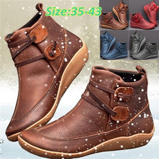 leatherbootsforwomen, Medieval, flatheelboot, leather