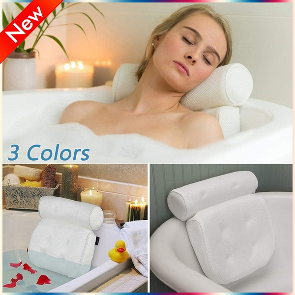 Head, Bathroom Accessories, meshbathpillow, Cup