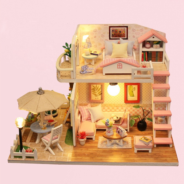 Box, woodendollhousetoy, doll, Wooden