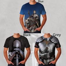 Mens T Shirt, Fashion, Medieval, unisex