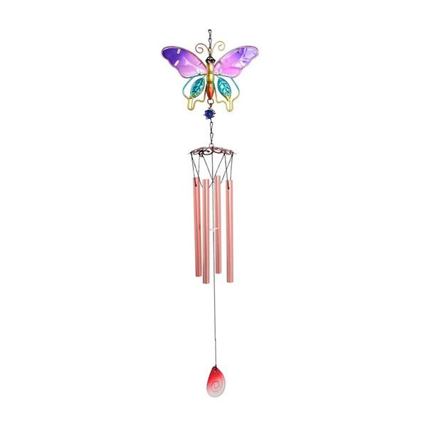 butterfly, Decor, Outdoor, metalmusicalwindbell