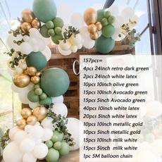 Shower, beangreenballoon, Garland, birthdaypartydecoration