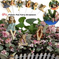 Plants, Flowers, flowerfairysculpture, fairy
