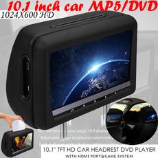 Monitors, Hdmi, headrest, DVD