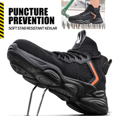 Steel, safetyshoe, Plus Size, sneakersformen